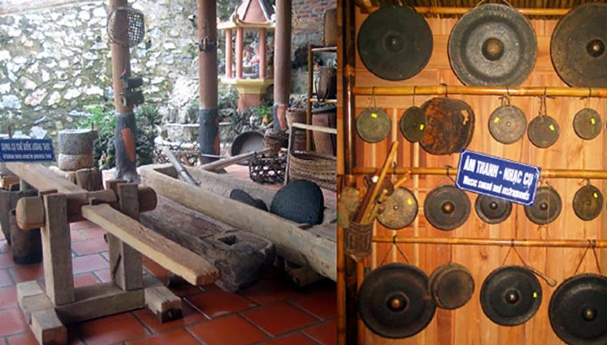 bảo tàng dân tộc thái ở Mai Châu, Hòa Bình - saomaitourist