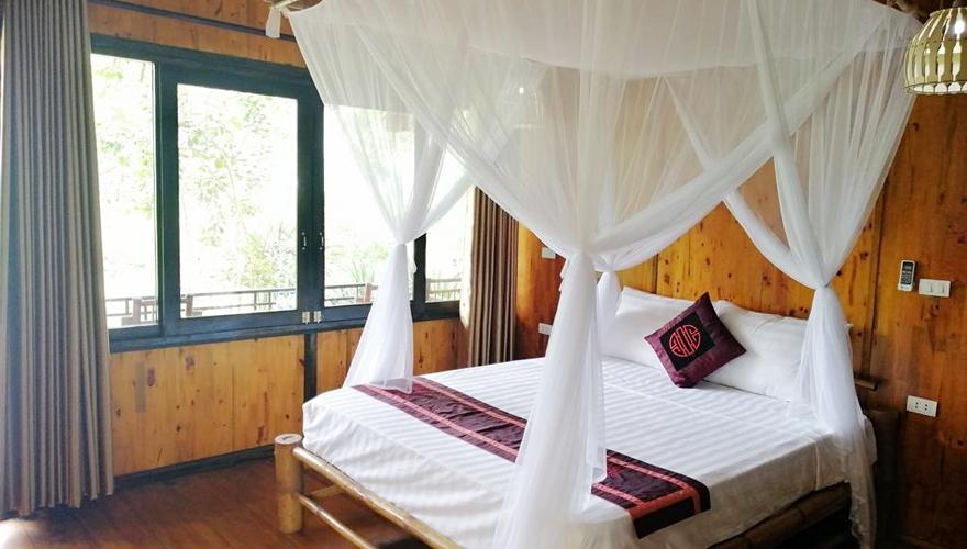 bungalow double - mai chau farmstay
