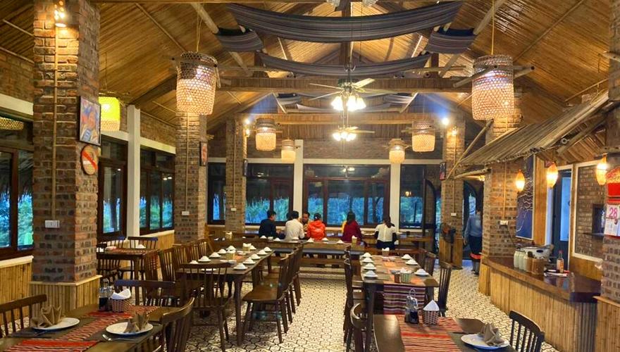 pu luong eco garden - restaurant