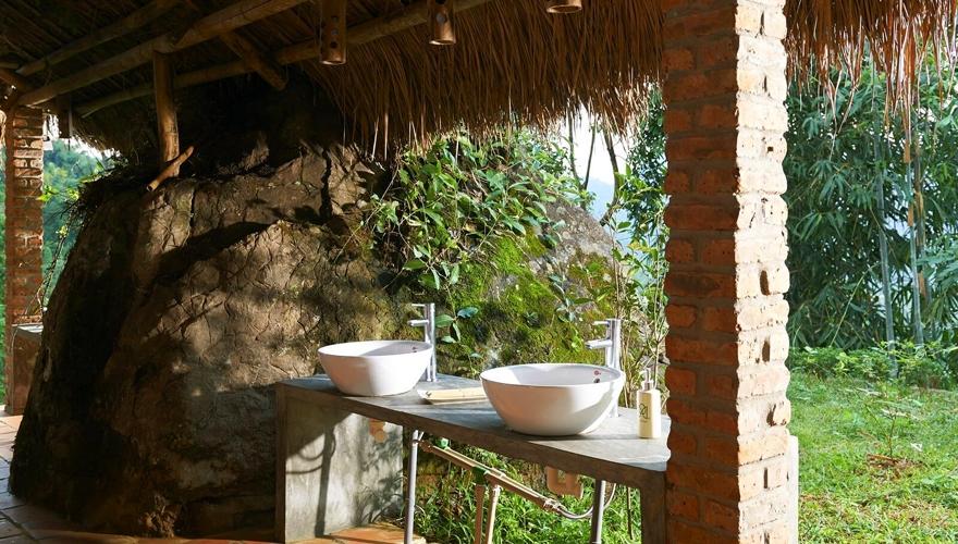puluong_ecogarden Stilt house
