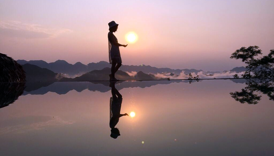 Pu Luong Eco Garden - hồ bơi vô cực