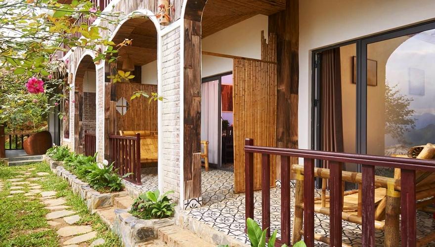 Pu Luong Eco Garden phòng deluxe