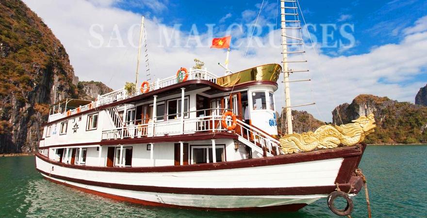 du thuyền 3 sao vịnh Hạ Long - saomaitourist